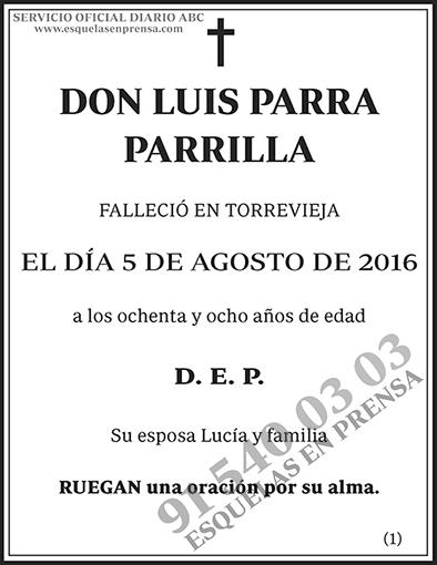 Luis Parra Parrilla